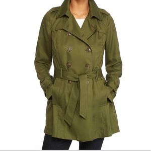 Tencel Twill Trench Coat-The Limited